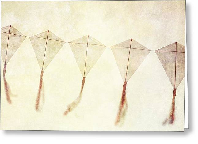 Kite Greeting Cards - Come Fly Away - Kite Photography Greeting Card by Lisa Russo