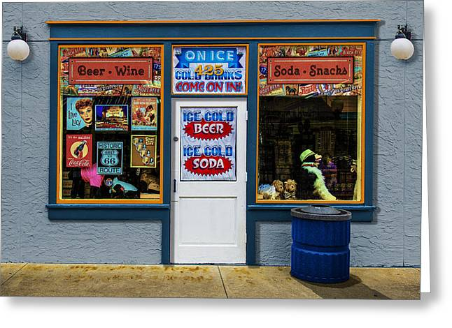 Come On In Greeting Card by Paul Wear