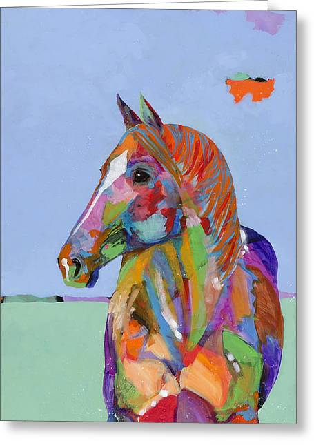 Come On Over Greeting Card by Tracy Miller