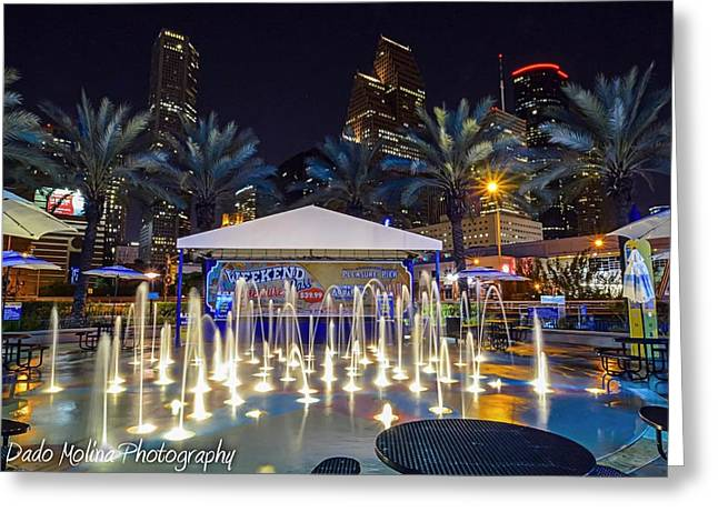 Night Photography Greeting Cards - Come Play Greeting Card by Dado Molina