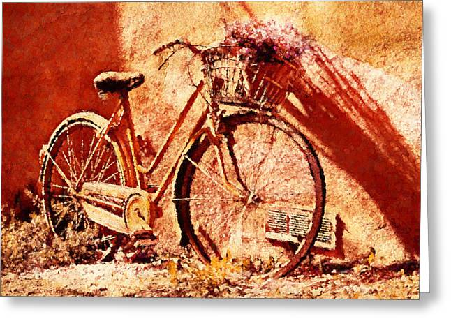 Come With Me Greeting Cards - Come Ride With Me - Vintage Art Greeting Card by Georgiana Romanovna