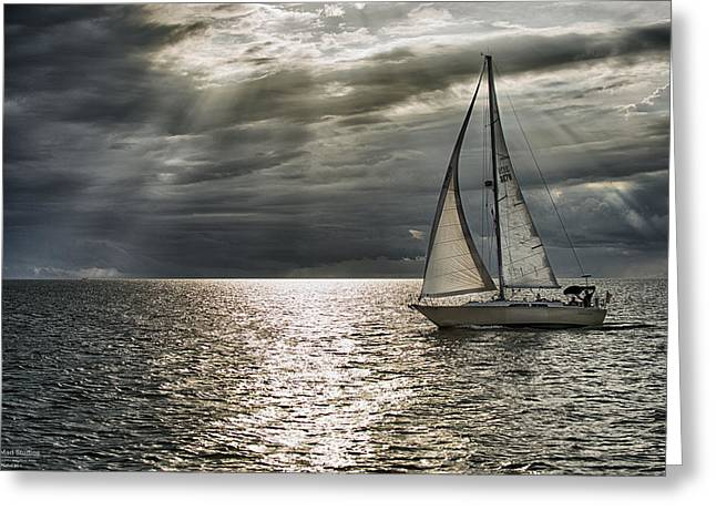 Come Sail Away Greeting Card by Michael White