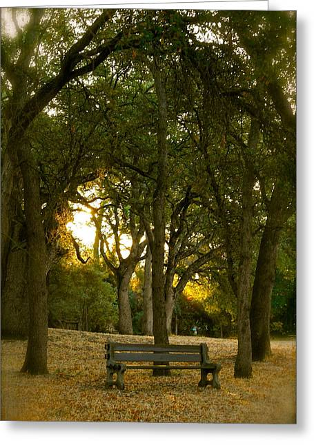 Best Sellers -  - The Nature Center Greeting Cards - Come Sit Awhile Greeting Card by Michele Myers