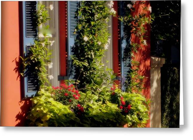 COME TO MY WINDOW Greeting Card by KAREN WILES