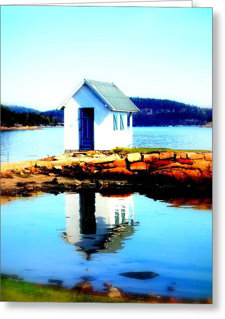 Sweating Photographs Greeting Cards - Come To The Bathhouse Greeting Card by Hilde Widerberg