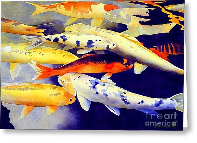 Feng Shui Greeting Cards - Come Together Greeting Card by Robert Hooper