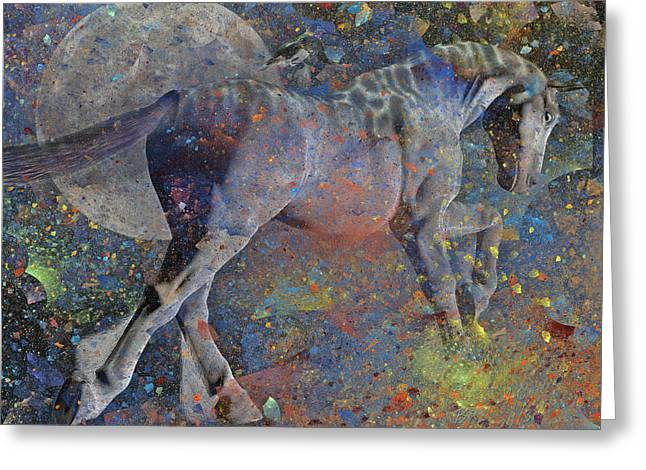 Comet Greeting Cards - Comet Greeting Card by Betsy C  Knapp