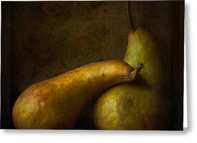 Pear Art Greeting Cards - Comfort  Greeting Card by Constance Fein Harding