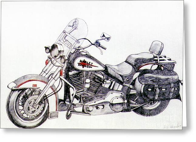 Camshaft Greeting Cards - Comfy Cruiser Greeting Card by Stephen Brooks