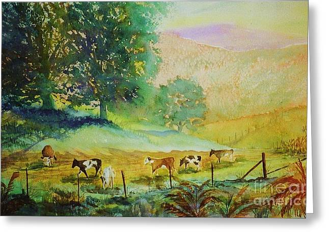 Comin' Home Greeting Card by Marilyn Smith