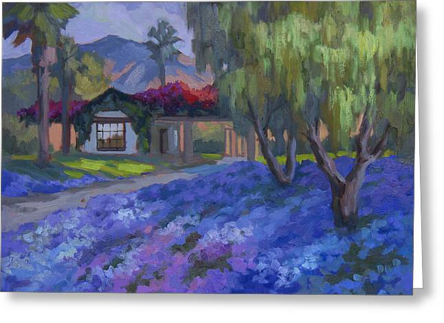 La Quinta Greeting Cards - Coming Home to Traditions Greeting Card by Diane McClary