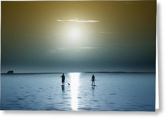 Dunedin Greeting Cards - Coming Out of the Sun Greeting Card by Bill Cannon