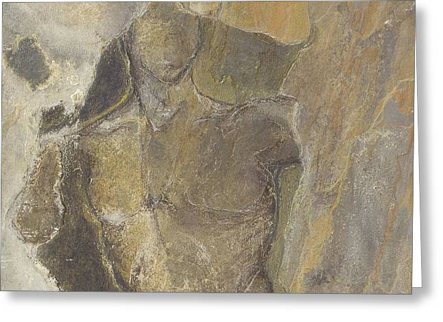Male Reliefs Greeting Cards - Coming Through Greeting Card by Claire Cundiff