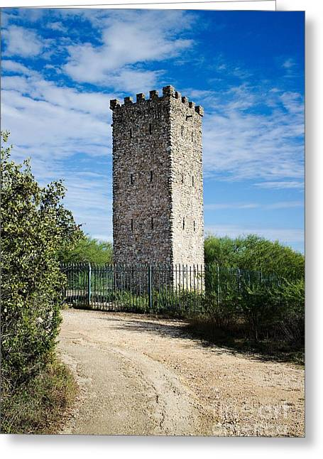 Commanche Greeting Cards - Commanche Park Tower Greeting Card by Gary Richards