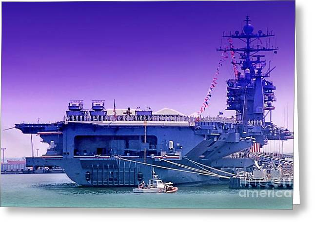 Carrier Greeting Cards - Commissioned Greeting Card by DJ Florek