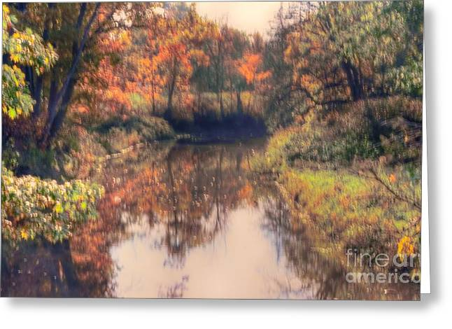 Struckle Greeting Cards - Como Park Greeting Card by Kathleen Struckle
