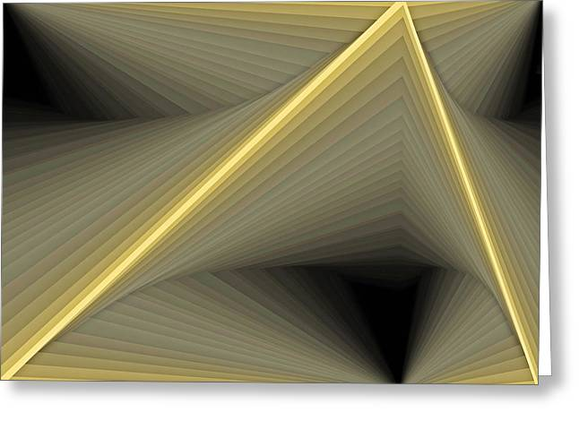 Mathematical Greeting Cards - Composition 100 Greeting Card by Terry Reynoldson