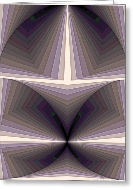 Circle Greeting Cards - Composition 154 Greeting Card by Terry Reynoldson