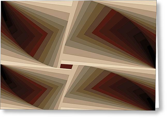 Mathematical Greeting Cards - Composition 162 Greeting Card by Terry Reynoldson