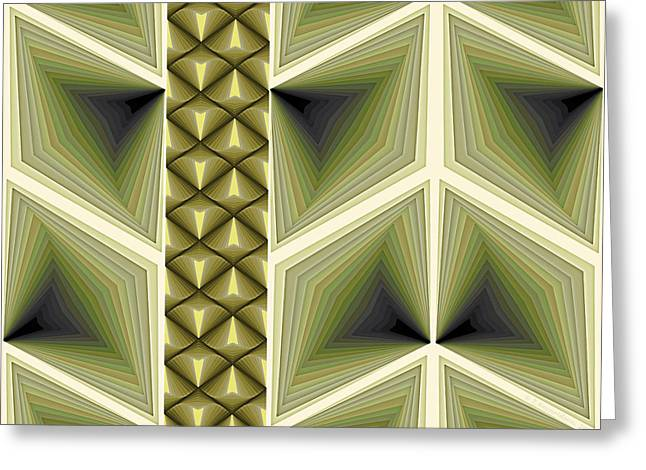 Geometric Art Greeting Cards - Composition 231 Greeting Card by Terry Reynoldson