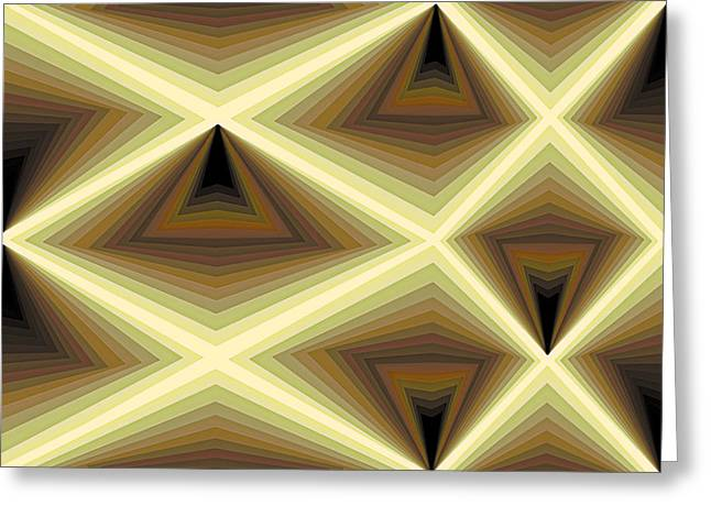 Abstraction Paintings Greeting Cards - Composition 232 Greeting Card by Terry Reynoldson