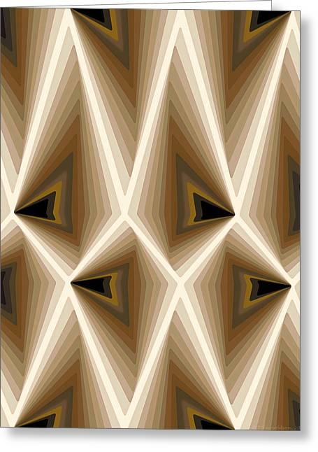 Mathematical Greeting Cards - Composition 257 Greeting Card by Terry Reynoldson