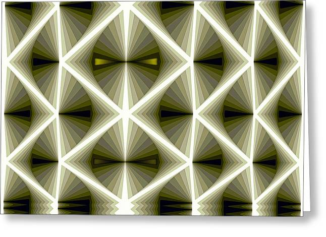 Mathematical Greeting Cards - Composition 266 Greeting Card by Terry Reynoldson