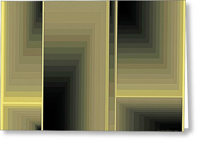 Mathematical Greeting Cards - Composition 75 Greeting Card by Terry Reynoldson