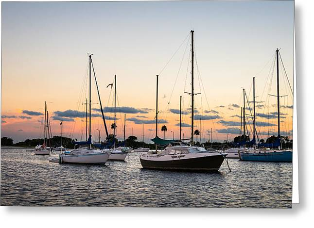 Sailboat Art Greeting Cards - Compromise Greeting Card by Clay Townsend
