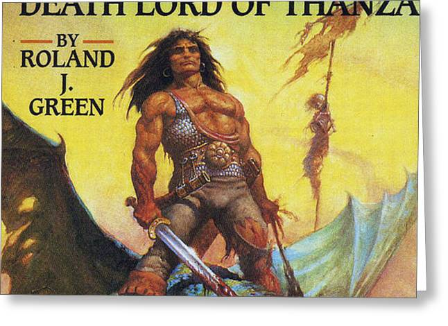Conan And The Death Lord Of Thanza 1997 Greeting Card by The Advertising Archives
