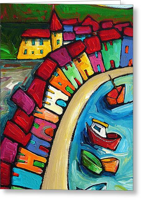 Sell Art Online Greeting Cards - Conca - Amalfi Coast - Italy Greeting Card by Sara Catena