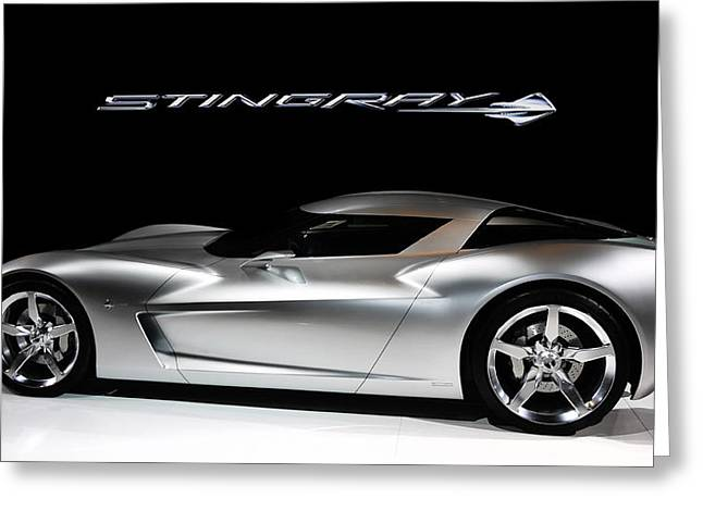 Stinging Greeting Cards - Concept Stingray Greeting Card by Peter Chilelli