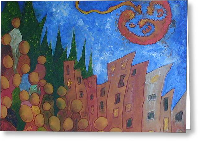 2008 Election Greeting Cards - Conception of a Leader Birth of Hope Greeting Card by Estefan Gargost