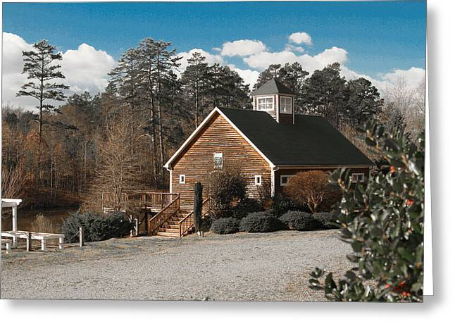 Concord Greeting Cards - Concord Boathouse Greeting Card by PMG Images
