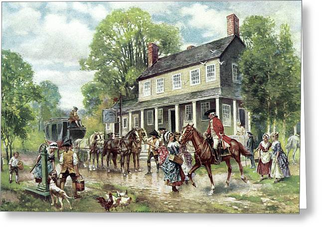 Concord, C1775 Greeting Card by Granger