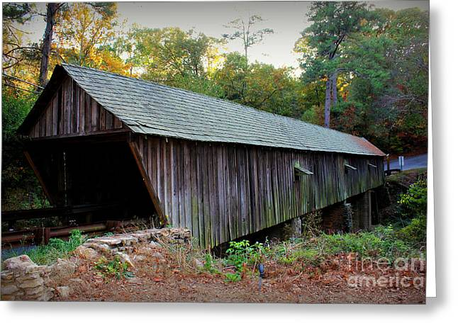 Covered Bridge Greeting Cards - Concord Covered Bridge Greeting Card by Reid Callaway