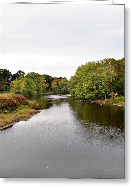 Concord Greeting Cards - Concord MA River Greeting Card by Staci Bigelow