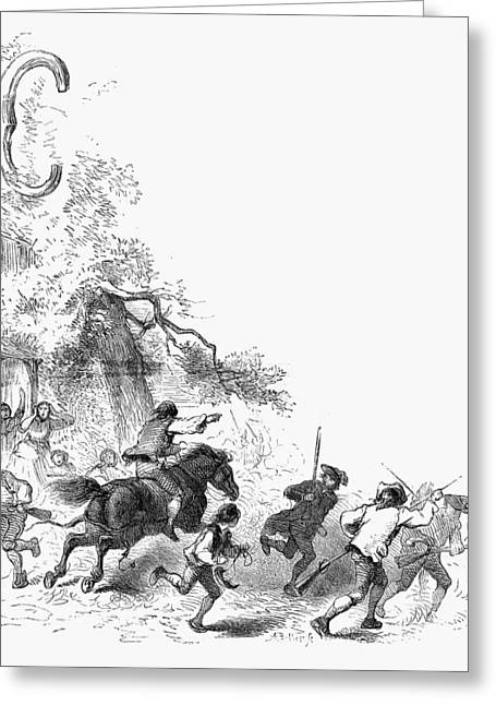 Minuteman Greeting Cards - Concord: Minutemen, 1775 Greeting Card by Granger