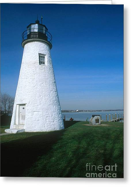 Concord Point Greeting Cards - Concord Point Lighthouse Greeting Card by Bruce Roberts