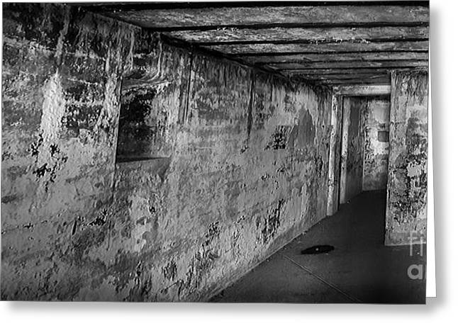 Fort Casey Greeting Cards - Concrete Cavern Greeting Card by Ken Andersen