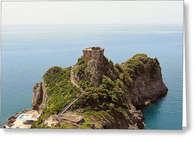 Concu Dei Marini Amalfi Greeting Card by Marilyn Dunlap