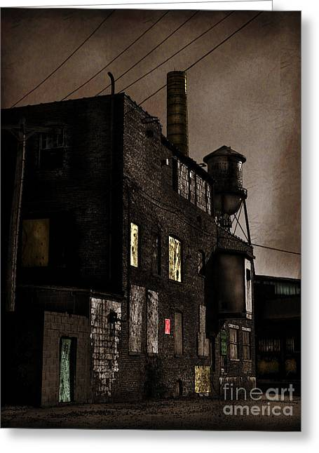 Condemned Greeting Card by Colleen Kammerer