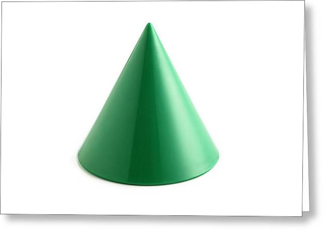 Cone Greeting Card by Science Photo Library