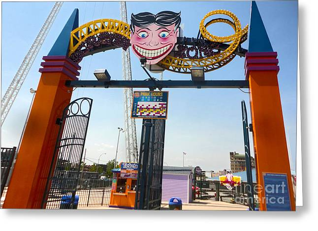 Gregory Dyer Greeting Cards - Coney Island Greeting Card by Gregory Dyer