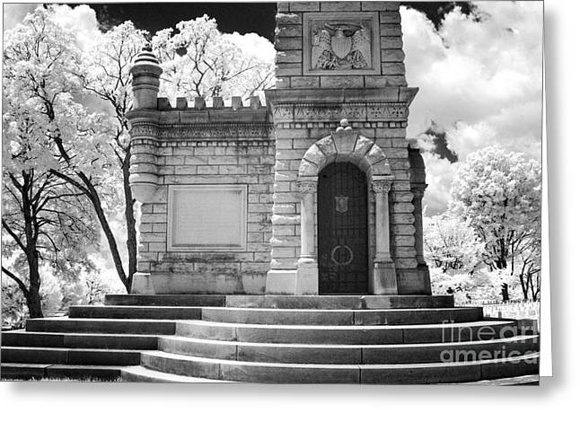 Confederate Monument Greeting Cards - Confederate Monument at the Old Gray Greeting Card by Paul W Faust -  Impressions of Light