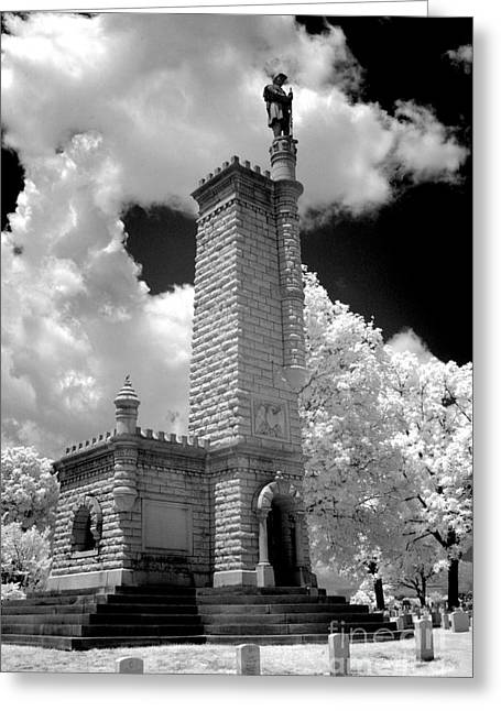 Confederate Monument Greeting Cards - Confederate resting place Greeting Card by Paul W Faust -  Impressions of Light