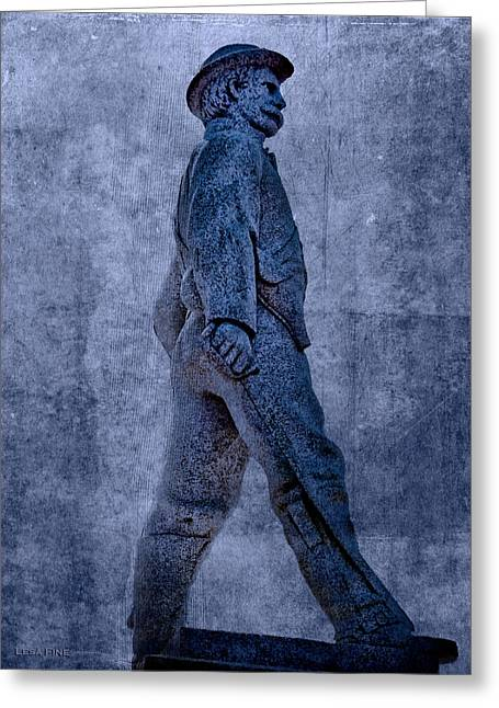 Confederate Soldier Statue Iv Alabama State Capitol Greeting Card by Lesa Fine