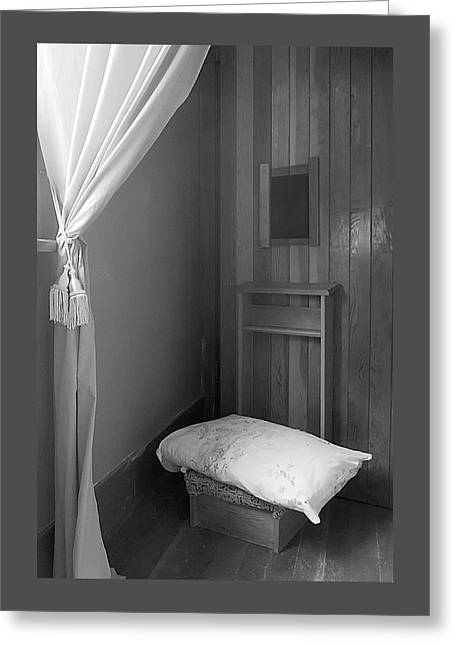 Forgiven Photographs Greeting Cards - Confessional Greeting Card by Mary Lee Dereske