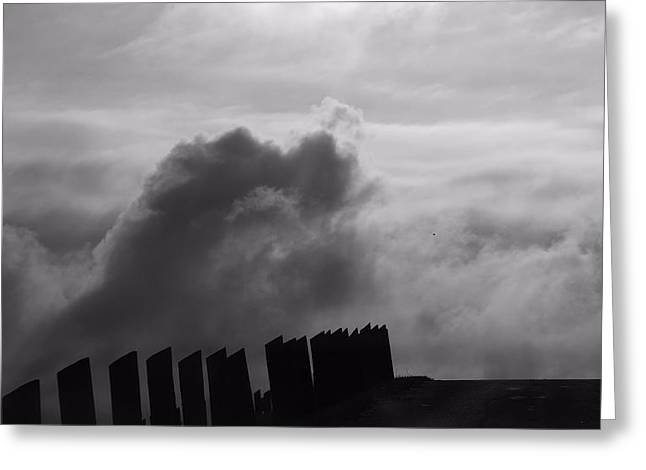 Approaching Storm Greeting Cards - Confrontation Greeting Card by Dan Sproul