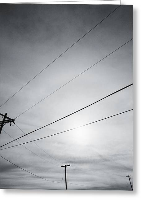 Keeping In Touch Photographs Greeting Cards - Connections Greeting Card by Thomas Shanahan